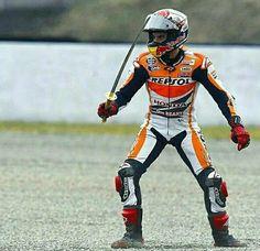 Marc Marquez, Motorcycle Suit, Valentino Rossi, Motogp, Honda, Biker, Champion, Superhero, Motorcycles