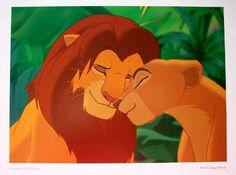 The Lion King - Simba and Nala -