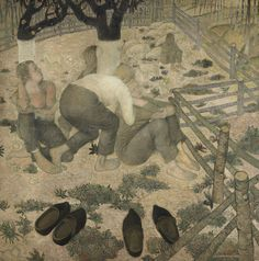 Gustave Van de Woestijne - Wikipedia Medieval Art, Museum Of Fine Arts, Living Room Art, Canvas Prints, Art Prints, Best Artist, Amazing Art, Nursery Decor, Poet