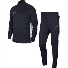 Navy - Nike - Academy Warm Up Tracksuit Mens Nike Dri Fit, Sports Tracksuits, Nike Gloves, Track Suit Men, Men's Football, Michael Jordan, Size Model, A Team, Air Max