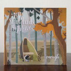 CD Artwork for LOW STANDARDS, HIGH FIVES