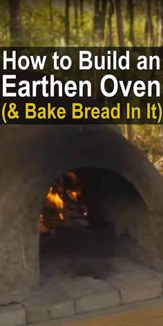 Earthen ovens have been used to bake food for at least two thousand years. In these videos, you'll learn how to make one and how to bake bread in one. Survival Food, Homestead Survival, Survival Prepping, Survival Skills, Survival Stuff, Survival Hacks, Homestead Farm, Homestead Living, Survival Shelter