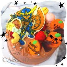 人気のガイムです! 5台くらいは作ったかな??(๑′ᴗ‵๑) - 53件のもぐもぐ - 仮面ライダーガイムのチョコケーキ by haruka