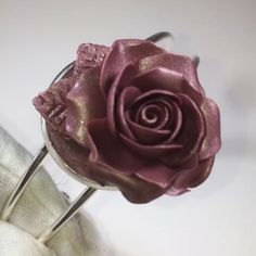 Heart Ring, Rose, Bracelets, Rings, Flowers, Jewelry, Pink, Jewels, Ring