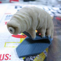 Shapeways 3D Prints the Most Resilient Creature on Earth, the Tardigrade, or 'Water Bear'