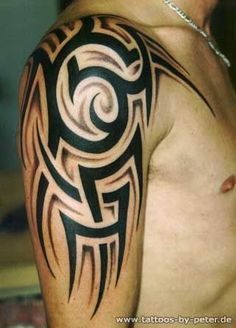 40 tribal arm tattoos for your guns tribal tattoo designs tattoo designs und 20er. Black Bedroom Furniture Sets. Home Design Ideas