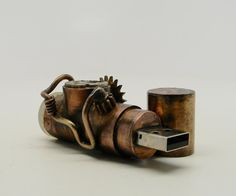 Hey, I found this really awesome Etsy listing at https://www.etsy.com/listing/174016645/steampunk-usb-flash-drive-16gb