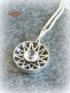 Kultaseppä Salovaara silver pendant, Finland Jewelry Finland, Jewerly, Silver Jewelry, Brooch, Pendant, Crafts, Diy, Schmuck, Jewlery