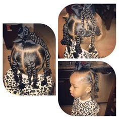 Little Girls Natural Hairstyles, Cute Little Girl Hairstyles, Toddler Hairstyles, Baby Girl Hairstyles, Kids Braided Hairstyles, Black Girls Hairstyles, Afro Hairstyles, Kid Braid Styles, Kid Styles