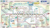Munich Public Transport (MVV) - map