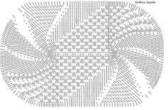 25-Tapetes de Barbante com gráficos