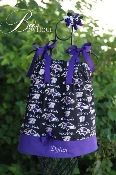 RAVENS NFL FOOTBALL DRESS GIRLS 0 TO 5 YEARS PERSONALIZED