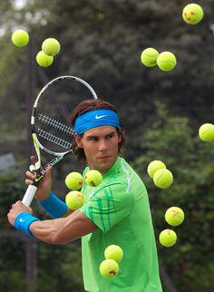 Rafael Nadal's new wax figure in London