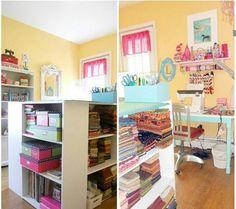 Dreamy craft room