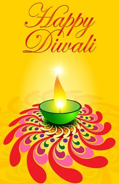Happy Diwali Vector. Free vector template of postcard happy Diwali. the festival of lights, is celebrated throughout India. diwali greeting vector backgrounds, creative design vector diwali oil lamp, available for download with a lot of free.