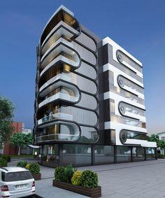 #mimarlık #mimari #cephe #tasarım #3d #building #design #facade #architecture #architectural #konut #residential #housing #apartment #modern