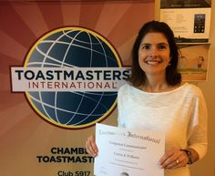 Tuesday Tidbits: Congratulations to Connie Williams Rochester Chamber Toastmasters latest Competent Communicator! #chambertmasters
