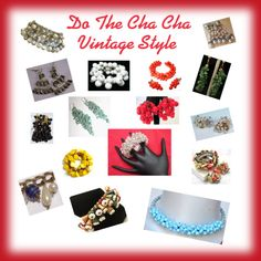 Cha Cha and Dangly Vintage Jewelry from Teamlove shops on Etsy by erinsmom-1 on Polyvore featuring Haskell, Retrò, vintage, women's clothing, women's fashion, women, female, woman, misses and juniors