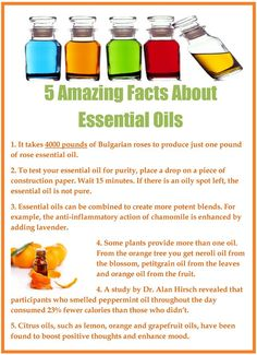 Herbs:  5 Amazing Facts About #Essential #Oils.