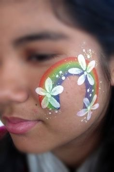 the best face painting cheek designs - Google Search