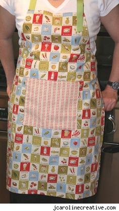 free apron pattern | Notes From The Parsonage