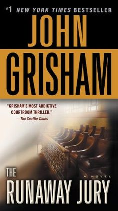 The Runaway Jury: by John Grisham: http://www.amazon.com/gp/product/0345531949?ie=UTF8&camp=1789&creativeASIN=0345531949&linkCode=xm2&tag=thereadingcov-20