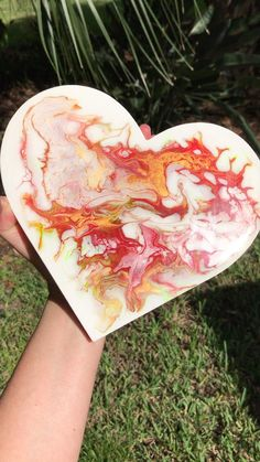 """Abstract Fluid Art Heart. The metallic gold shimmers and shines in this piece! Size: 9"""" x 8 3/4"""" x 5/8"""" Wedding Anniversary Gifts, Happy Anniversary, Heart Wall, Unique Wall Art, Wooden Hearts, Valentine Decorations, Wall Plaques, Metallic Gold, Resin Art"""