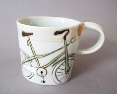 Bicycle mug.