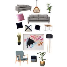 """Gefällt 62 Mal, 5 Kommentare - Lily∆Reed Interior Decorating (@lilyandreed) auf Instagram: """"A mutual friend of mine asked for my help to furnish and decorate her front living room. She'd been…"""""""