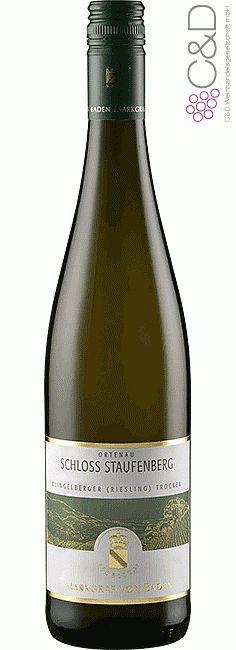 Folgen Sie diesem Link für mehr Details über den Wein: http://www.c-und-d.de/Baden/Schloss-Staufenberg-Klingelberger-Riesling-QbA-trocken-2012-Markgraf-von-Baden-Schloss-Staufenberg_65100.html?utm_source=65100&utm_medium=Link&utm_campaign=Pinterest&actid=453&refid=43 | #wine #whitewine #wein #weisswein #baden #deutschland #65100