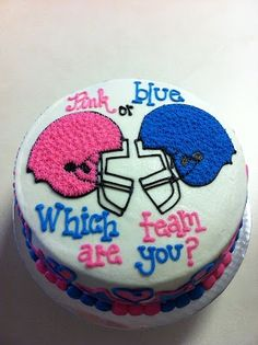 Baby Bump Bundle Blog: Foodie Fridays- 5 Gender Reveal Cakes