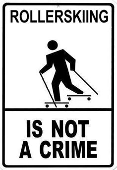 Dear cars, swirving into me when I am roller skiing is not helping anyone Sincerely, every cross country skier out there