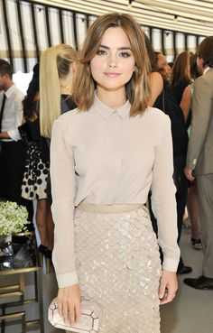 Jenna Coleman At Celebrating BAFTA LA And The Britannia Awards ...
