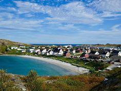 This small Norwegian fishing village by the Varanger Fjord on the shore of the Arctic Ocean is absolutely beautiful and worth a visit. Visit Norway, Fishing Villages, Travel Pictures, Arctic, Dolores Park, Travel Photography, Ocean, Explore, Landscape