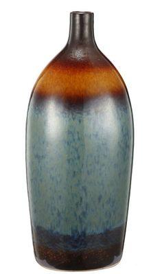 """Ceramic Vase Multi-Colored Vase 13""""""""x4""""""""x20"""""""""""
