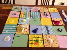 I was recently asked by a lady called Francesca, if I could make her a Fidget Quilt. I had heard of these before but not made any. After a q...
