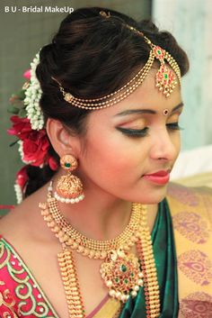 Bridal Makeup Hairstyles In Tamilnadu Saubhaya Makeup