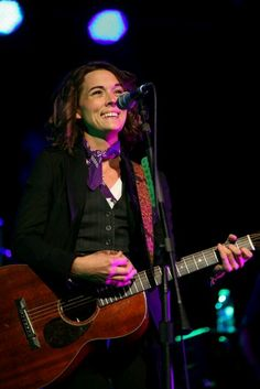 Brandi Carlile stop being the most adorable and most talented chick on the planet, okay? PS...you are my walk-out-woman:)