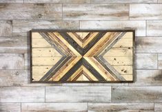 Earth Tones X. Reclaimed Wood Wall Art. Southwest Style. Home Decor. Reclaimed Wood. Barnwood Art. Wood Mosaic Art