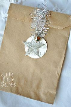 Little Birdie Secrets: christmas gift tag exchange {easy christmas gift idea}