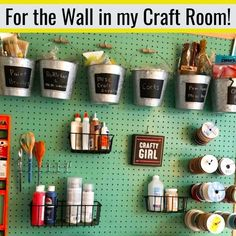 Organizing Small Spaces on a Budget [Small Space Organization Hacks! Small Space Organization, Home Organization Hacks, Organizing Ideas, Easy Home Decor, Cheap Home Decor, Supply Room, Getting Organized At Home, Homemade 3d Printer, Craft Storage
