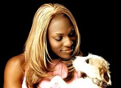 Serena Williams with her Jack