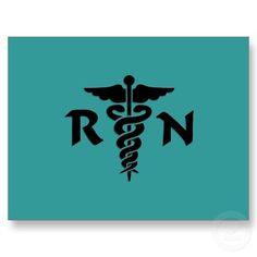 RN Medical Symbol Stationary