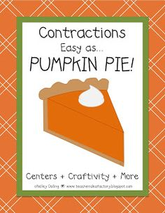 Contractions With a Little Holiday Flavor!  Includes introduction lesson, Contraction Rap (By Ron Brown), contraction craft, center games, and independent activities.  Teacher Idea Factory $ Teaching Phonics, Teaching Reading, Teaching Tips, 1st Grade Writing, 2nd Grade Reading, Classroom Crafts, Primary Classroom, Classroom Ideas, School Items
