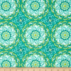 Carina Modern Adore Teal from @fabric.com $9.48/yard  Designed by Amanda Murphy for Benartex Fabrics, this fabric is perfect for quilting, apparel and home décor accents. Colors include shades of blue, green and white.