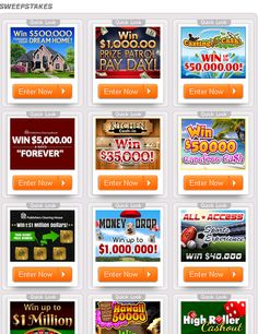 Sweepstakes at pch.com