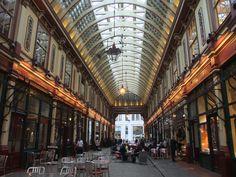 Laedenhall Market in London #architecture