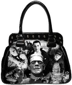 Rock Rebel Universal Monsters handbag <3