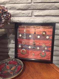 Framed Jewelry art by Zagareet on Etsy
