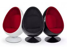 Egg Ball - Eye Ball Chair www.